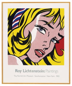 The Parrish Art Museum (Girl with Hair Ribbon 1965) Roy Lichtenstein