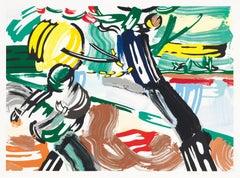The Sower - Pop Art, Contemporary Art, Lithograph, woodcut, screenprint