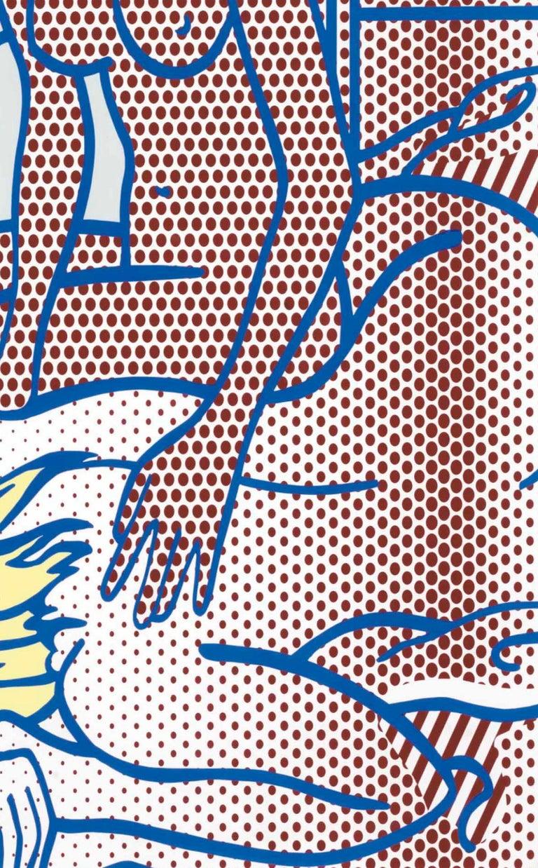 Two Nudes, State I (Corlett 285) - Beige Landscape Print by Roy Lichtenstein