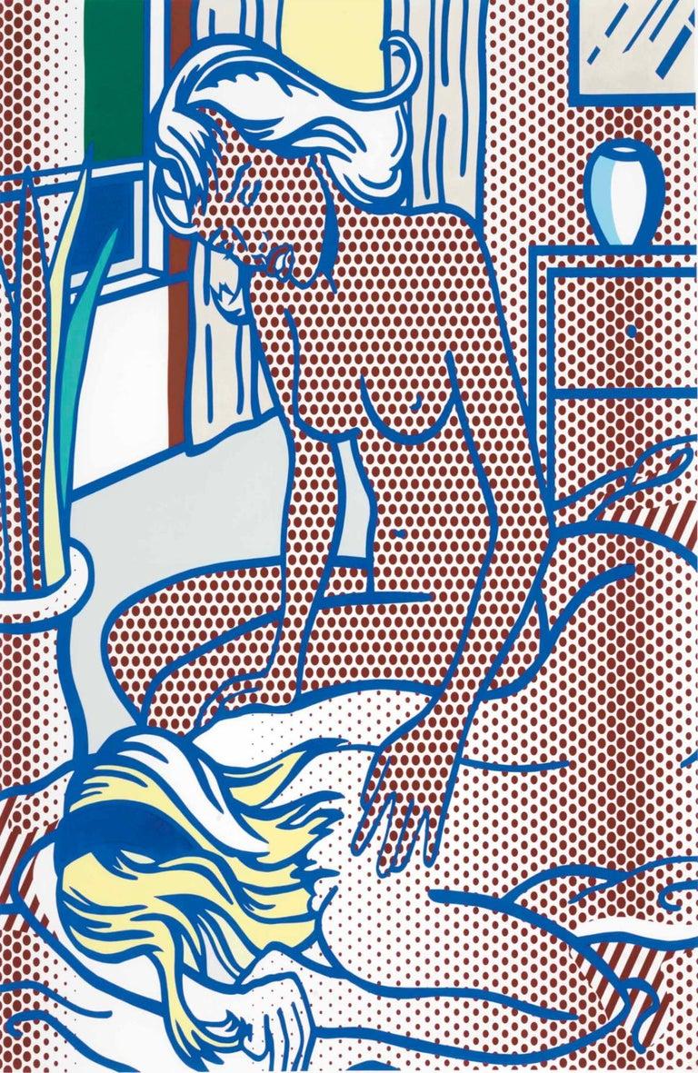 Roy Lichtenstein Landscape Print - Two Nudes, State I (Corlett 285)