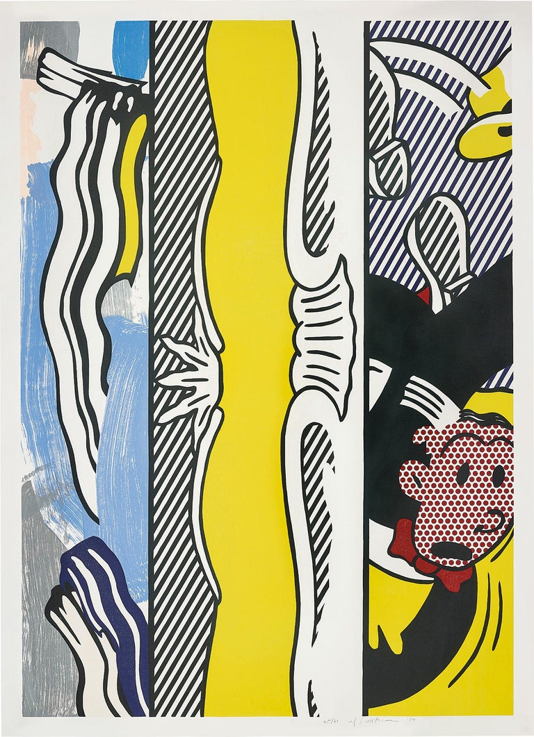 Roy Lichtenstein Abstract Print - Two Paintings: Dagwood