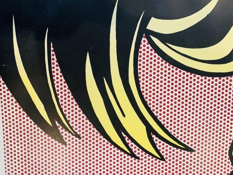 An original offset-lithograph poster on smooth wove paper after American artist Roy Lichtenstein (1923-1997) titled