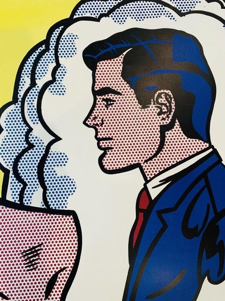 American Roy Lichtenstein, Thinking of Him, 1991 Springdale For Sale