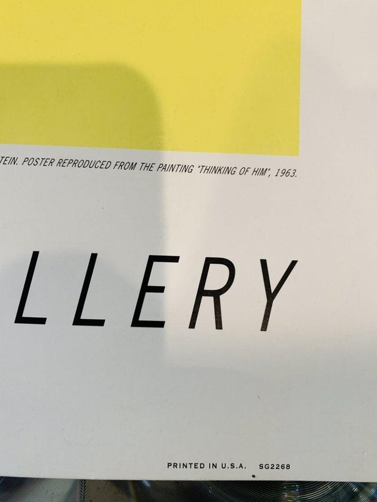 Roy Lichtenstein, Thinking of Him, 1991 Springdale In Good Condition For Sale In Los Angeles, CA