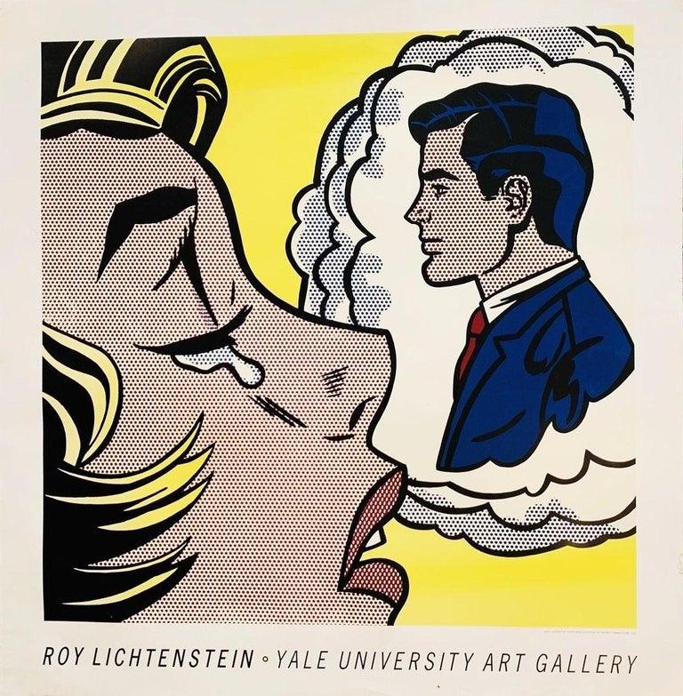 Paper Roy Lichtenstein, Thinking of Him, 1991 Springdale For Sale