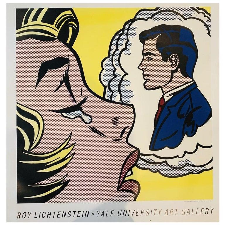 Roy Lichtenstein, Thinking of Him, 1991 Springdale For Sale