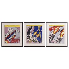 "Roy Lichtenstein, ""As I Opened Fire, 1966"""
