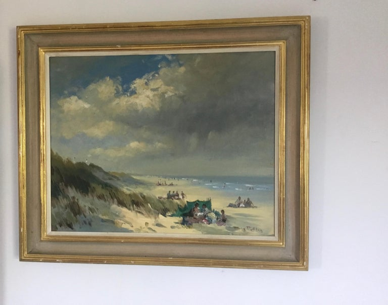 BANK HOLIDAY PASSING STORM  Roy Petley 1950 renowned Contempary British artist  For Sale 6