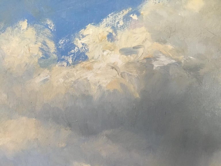 BANK HOLIDAY PASSING STORM  Roy Petley 1950 renowned Contempary British artist  For Sale 2