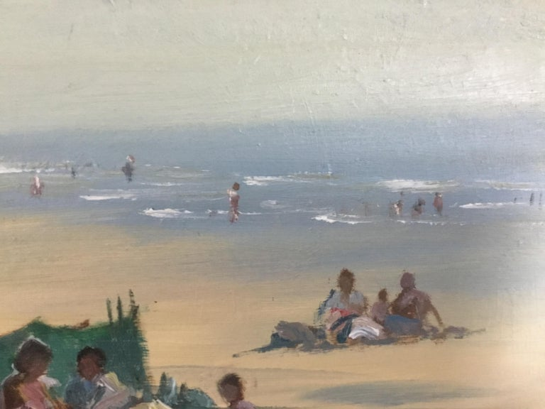 BANK HOLIDAY PASSING STORM  Roy Petley 1950 renowned Contempary British artist  For Sale 3