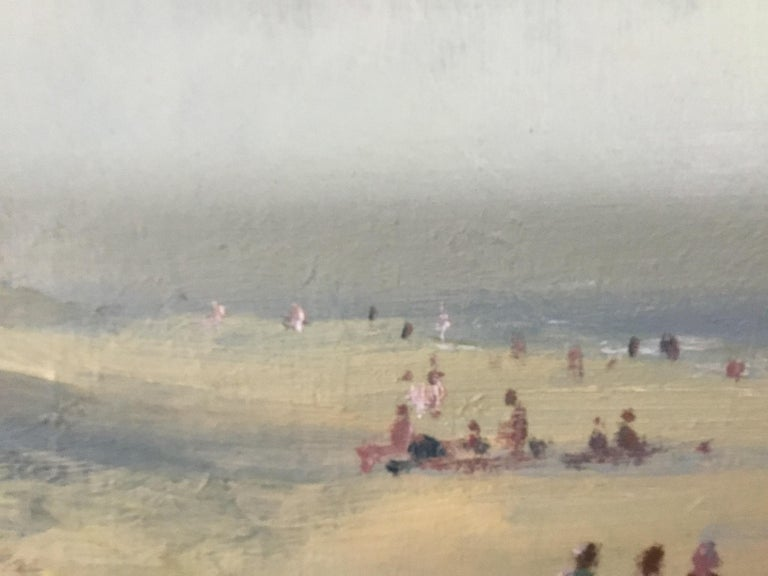 BANK HOLIDAY PASSING STORM  Roy Petley 1950 renowned Contempary British artist  For Sale 4