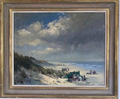 BANK HOLIDAY PASSING STORM  Roy Petley 1950 renowned Contempary British artist