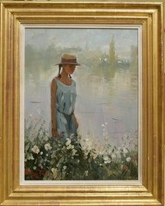 THE RIVER WALK.Roy Petley  contemporary British artist