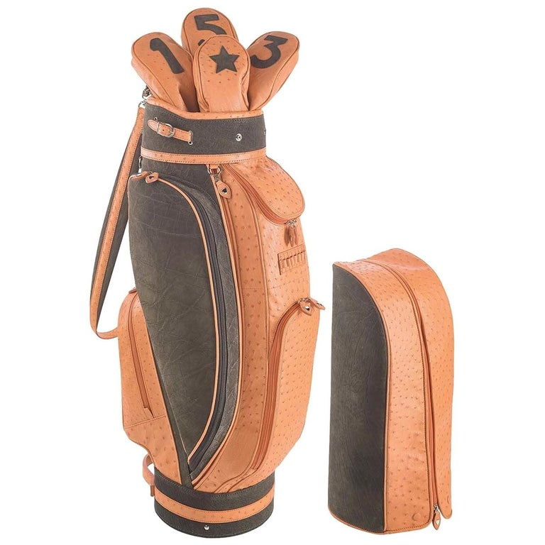 Royal Apricot Golf Bag by Barchi For Sale