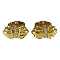 Hammerman Brothers Royal Ascot Diamond Cufflinks