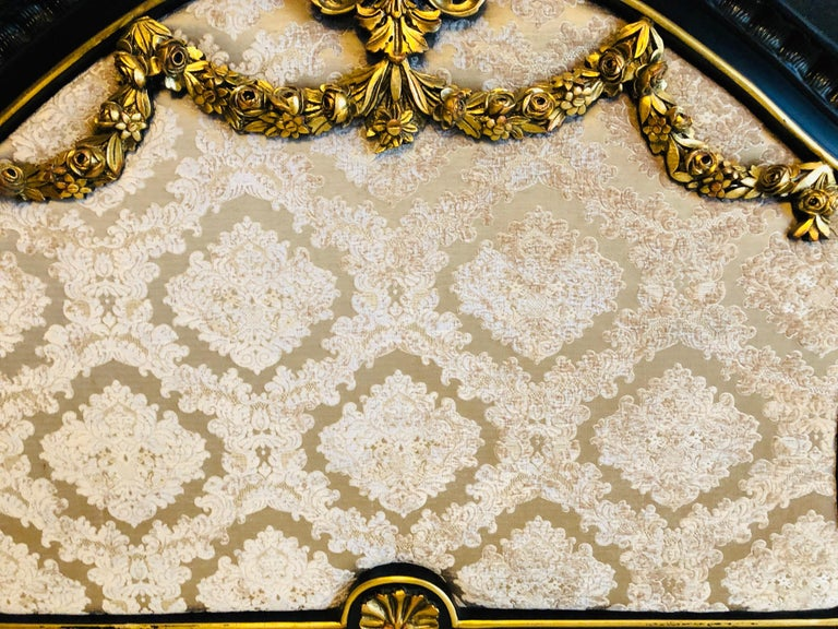 Royal Bed in Louis XV Style Custom Made For Sale 7