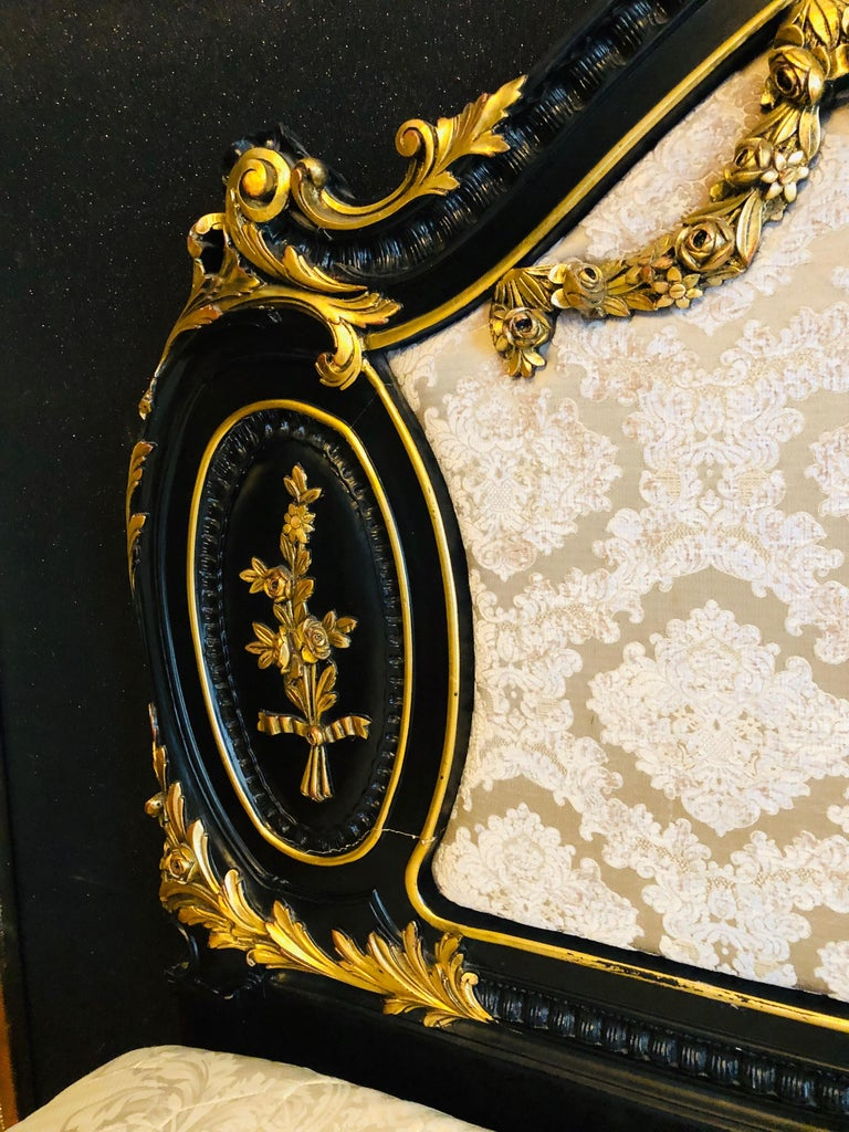 Royal Bed in Louis XV Style Custom Made For Sale 8