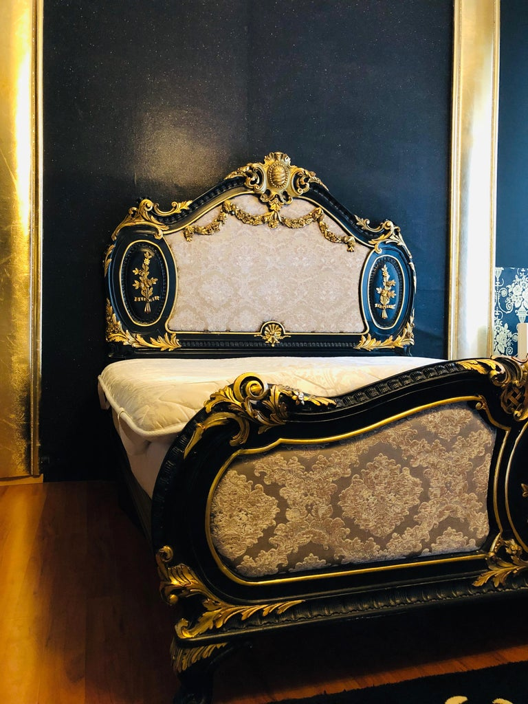 Royal Bed in Louis XV Style Custom Made For Sale 13