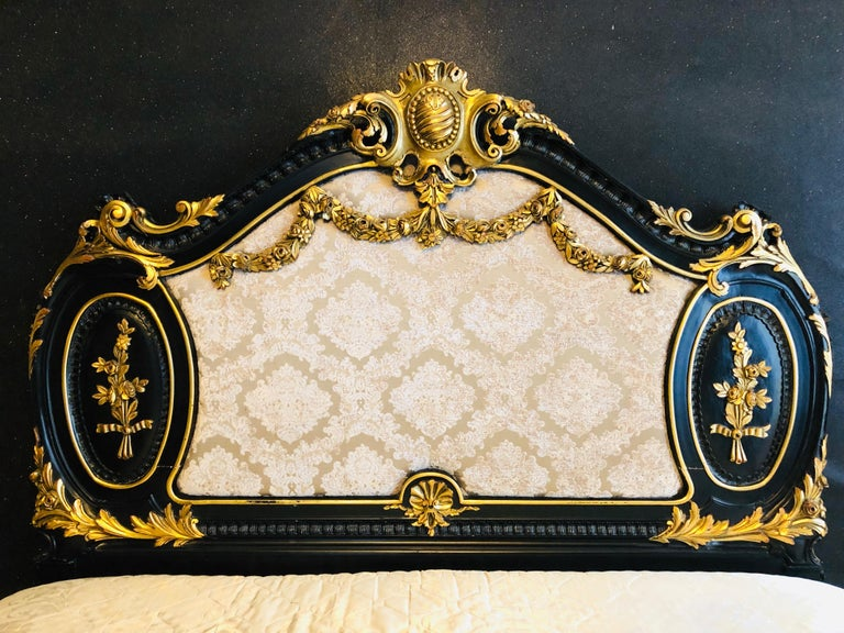 20th Century Royal Bed in Louis XV Style Custom Made For Sale