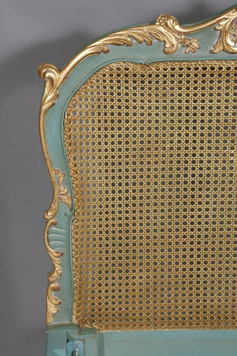 Royal Bed with Wickerwork in the Louis Quinze Style 1