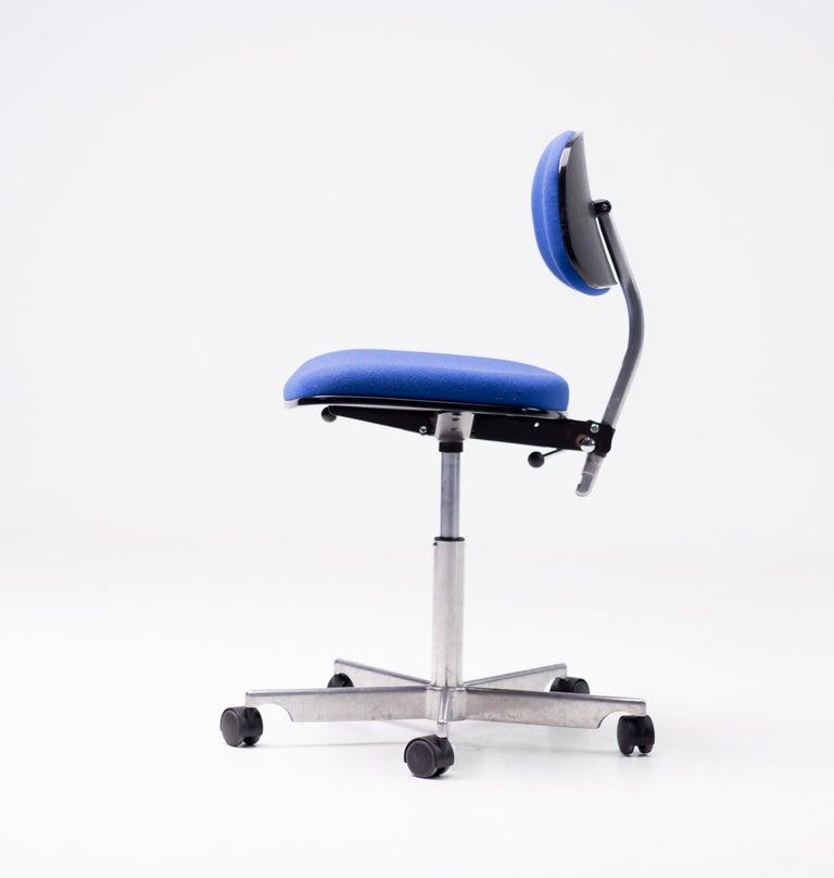 Scandinavian Modern Royal Blue Kevi Desk Chairs For Sale
