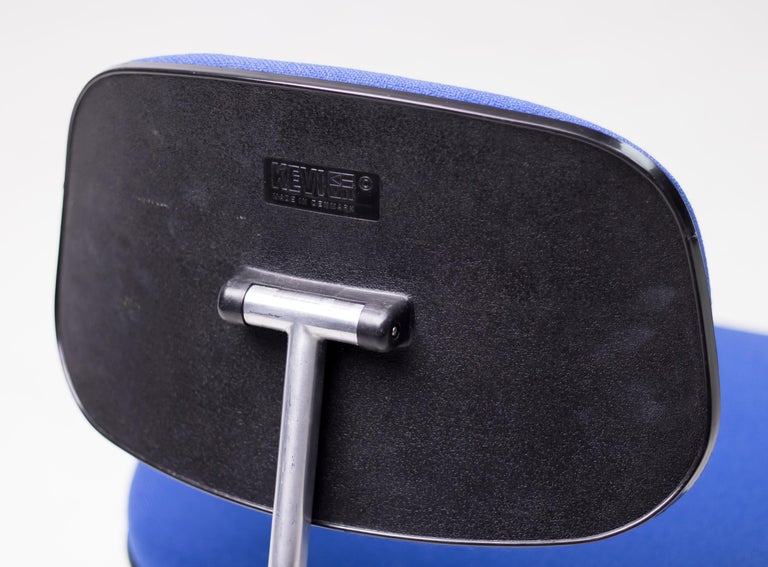 Royal Blue Kevi Desk Chairs For Sale 1