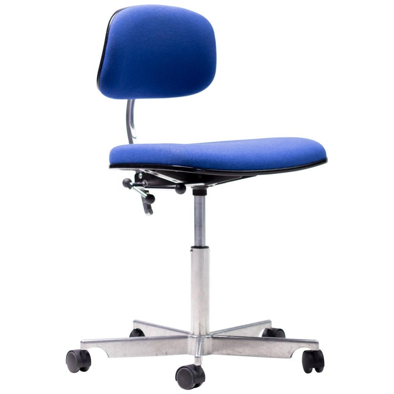 Royal Blue Kevi Desk Chairs For Sale
