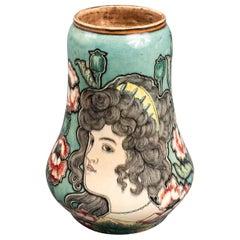 Royal Bonn Art Nouveau Pottery Vase