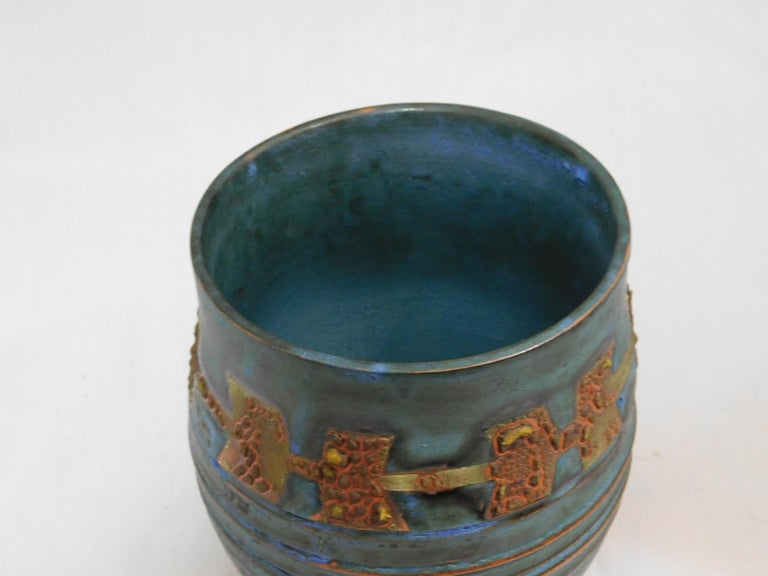 Royal Canyon Ceramic Vessel by Andrew Wilder, 2018 In New Condition For Sale In Richmond, VA