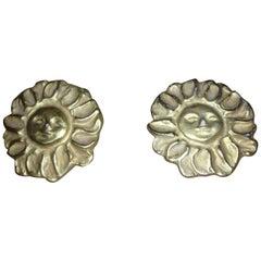 Royal Copenhagen Anton Michelsen Sterling Silver Pendant and Brooch