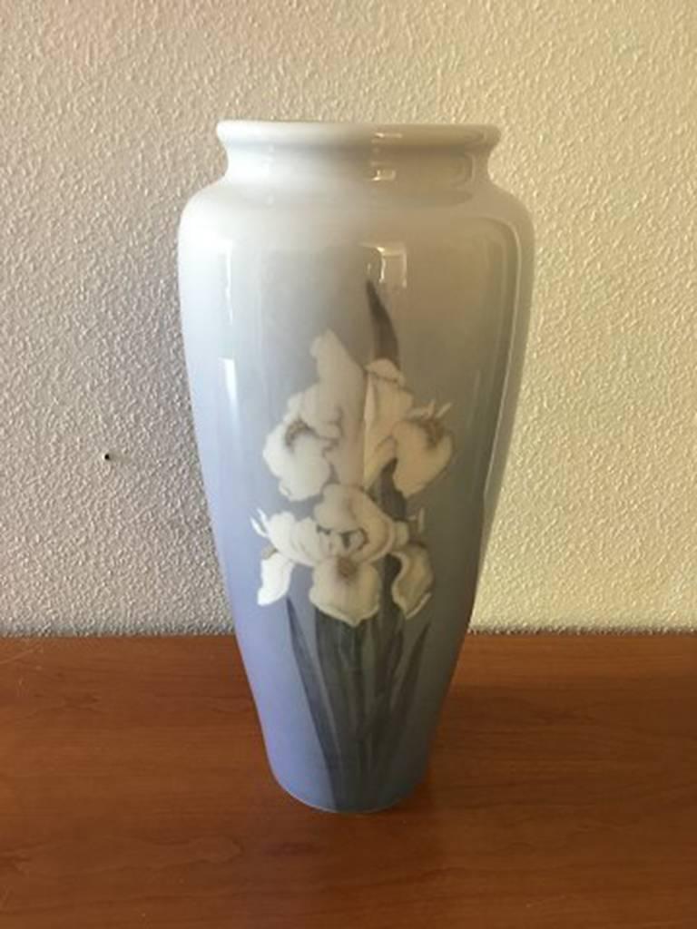 Danish Royal Copenhagen Art Nouveau Unique Vase by Catharina Zernichow For Sale