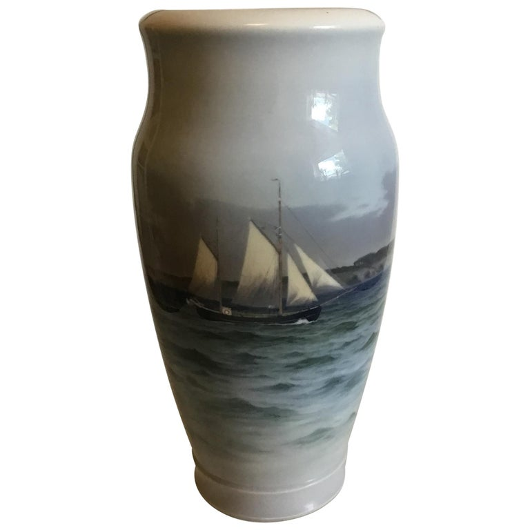 Royal Copenhagen Art Nouveau Vase No 2678/2420 For Sale