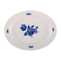 Royal Copenhagen Blue Flower Braided Serving Dish, Dated 1958