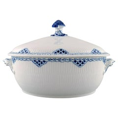 Royal Copenhagen Blue Painted Princess Lidded Tureen in Porcelain