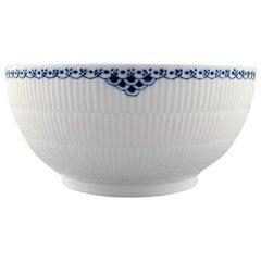 Royal Copenhagen Blue Painted Princess Salad Bowl in Porcelain
