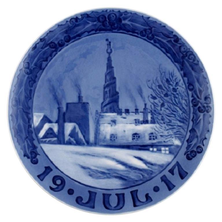 Royal Copenhagen Christmas Plate from 1917