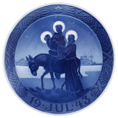 Royal Copenhagen, Christmas Plate from 1943