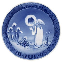 Royal Copenhagen, Christmas Plate from 1945