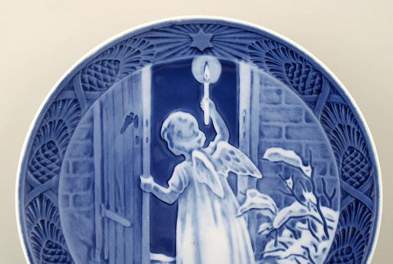Royal Copenhagen, Christmas plate from 1951. In perfect condition. 1st factory quality Measures: 17 cm.