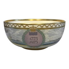 Royal Copenhagen Commemorative Bowl 1775-1975 No 749/2500