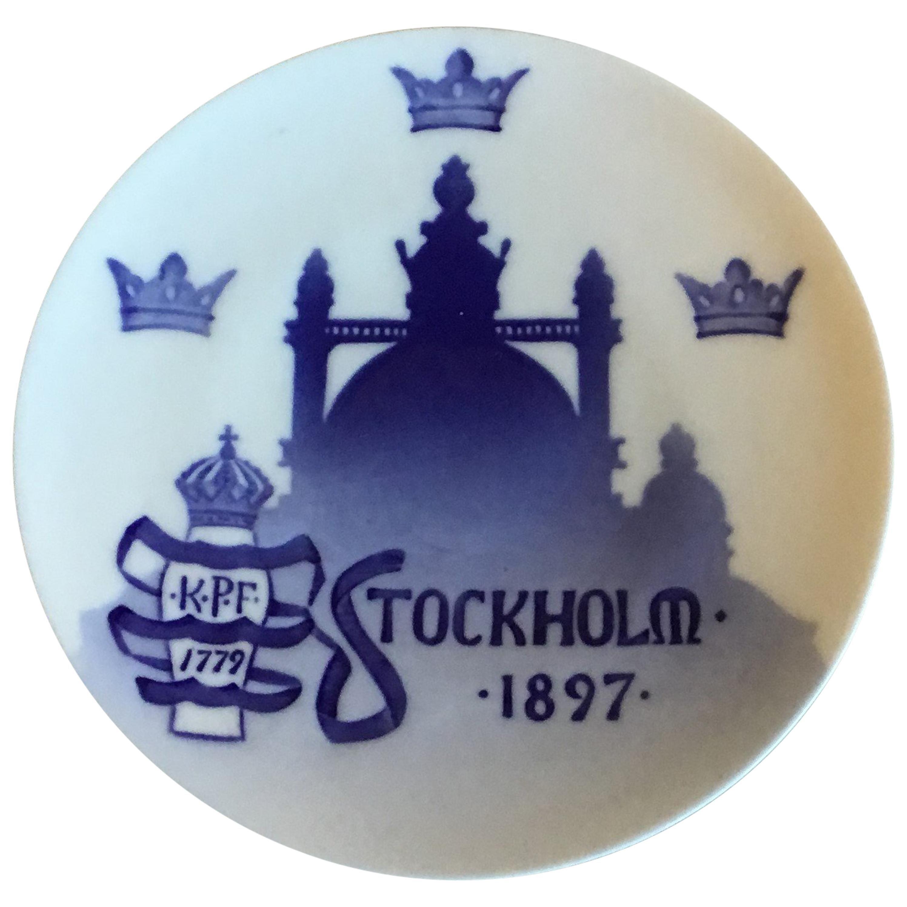Royal Copenhagen Commemorative Late from 1897 RC-CM10