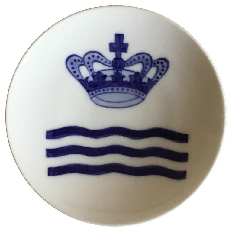 Royal Copenhagen Commemorative Plate from 1888 RC-CM1A For Sale