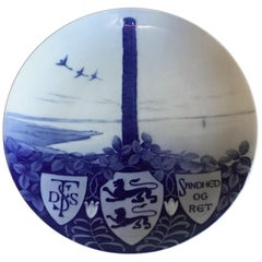 Royal Copenhagen Commemorative Plate from 1898 RC-CM24