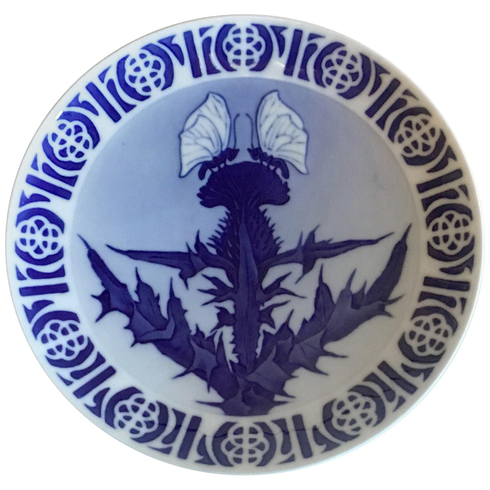 Royal Copenhagen Commemorative Plate from 1898, RC-CM25