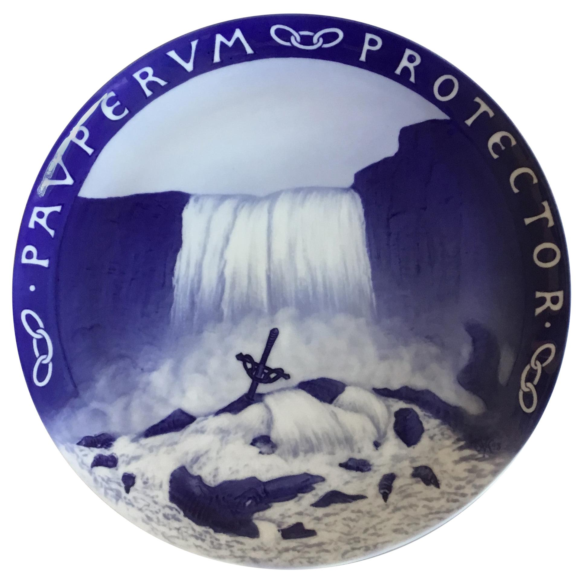 Royal Copenhagen Commemorative Plate from 1899 RC-CM31