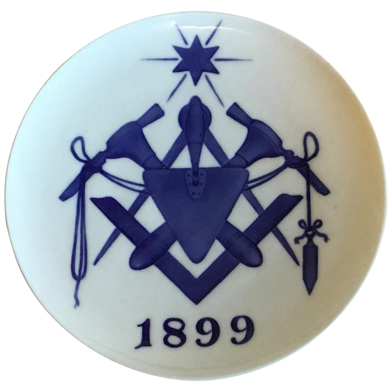 Royal Copenhagen Commemorative Plate from 1899 RC-CM34