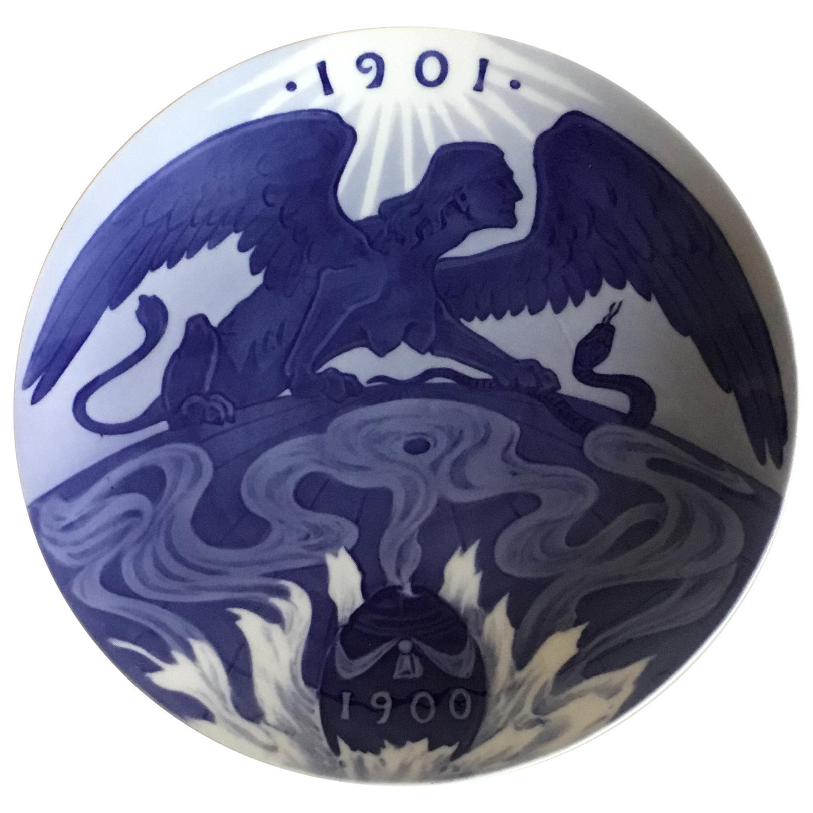 Royal Copenhagen Commemorative Plate from 1899 RC-CM39