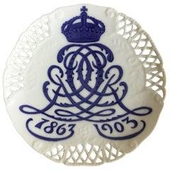Royal Copenhagen Commemorative Plate from 1903 RC-CM46A