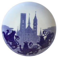Royal Copenhagen Commemorative Plate from 1904 RC-CM49