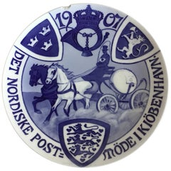 Royal Copenhagen Commemorative Plate from 1907 RC-CM69